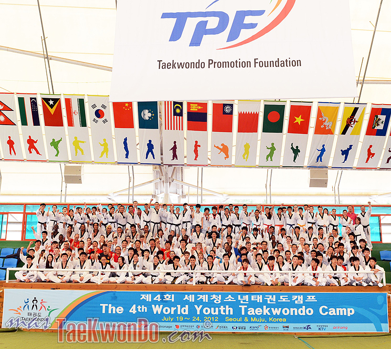 The 4th World Youth Taekwondo Camp, July 2012