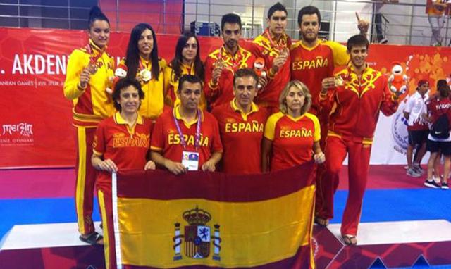 Equipo-ESP_Taekwondo_Juegos-del-Mediterraneo_Campeon