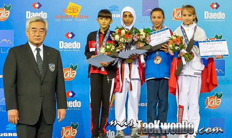 Podium -29kgFemCadet Champ