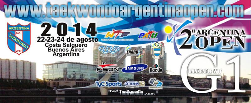 Argentina open banner