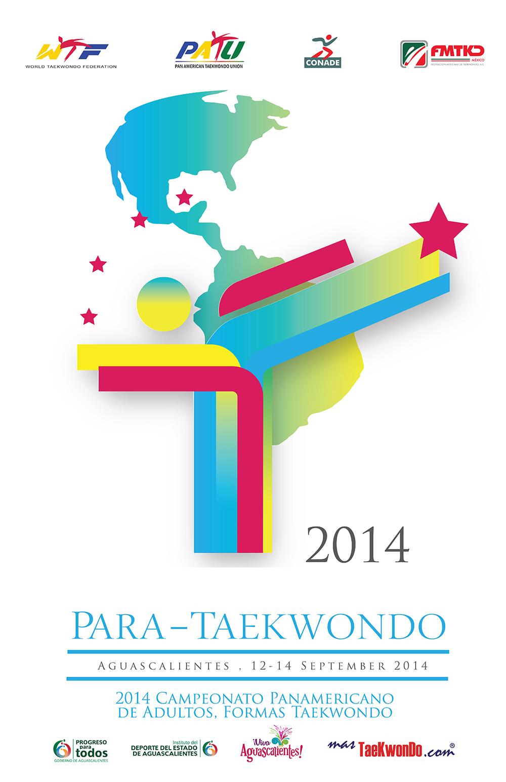 Para Taekwondo banner Aguascalientes 2014