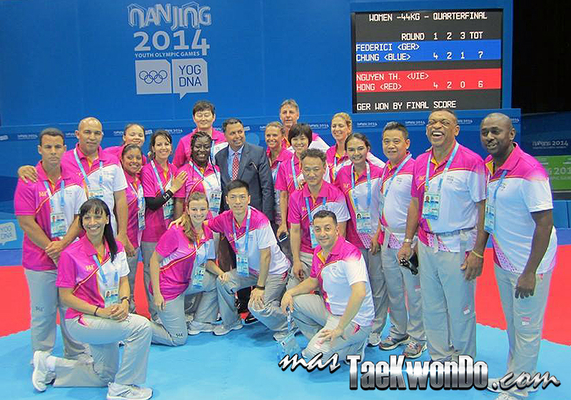 wtf international referees nanjing 2014