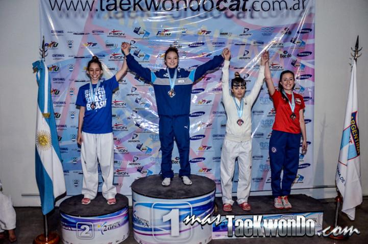 argenina open podium -46kg female