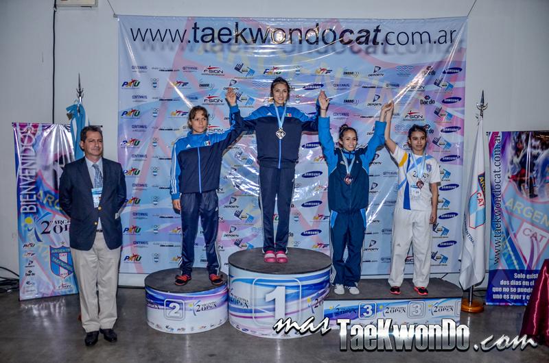 argentina open podium -49kg female