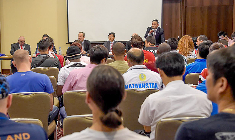 technical meeting Astana 2014