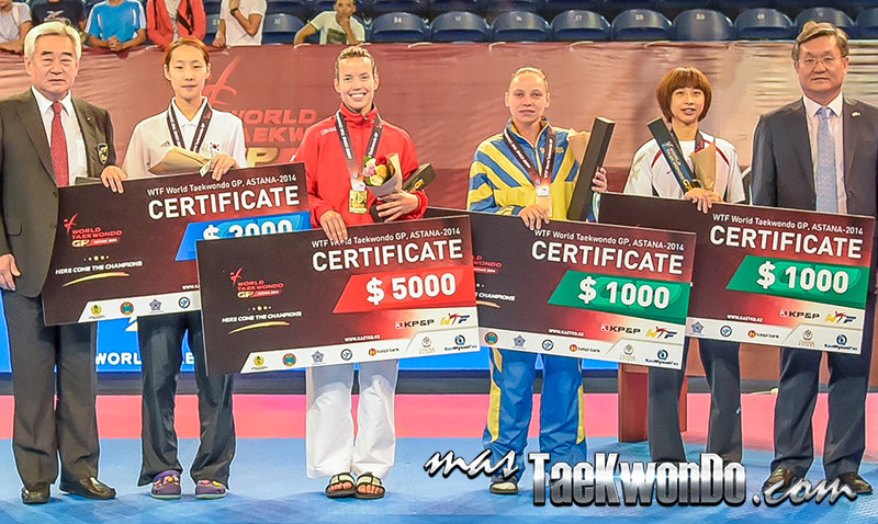 astana podium -40kg female