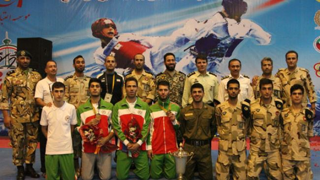 Iranian male team military champioships