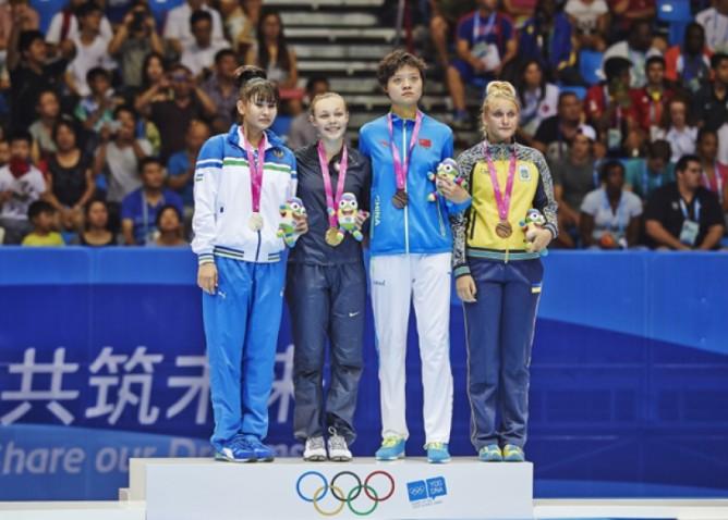 usa-azerbaijan podium nanjing 2014