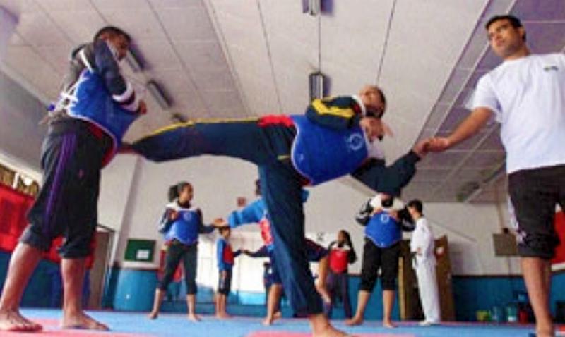 Nepal taekwondo team