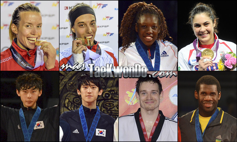 top 16 wtf world ranking august 2014