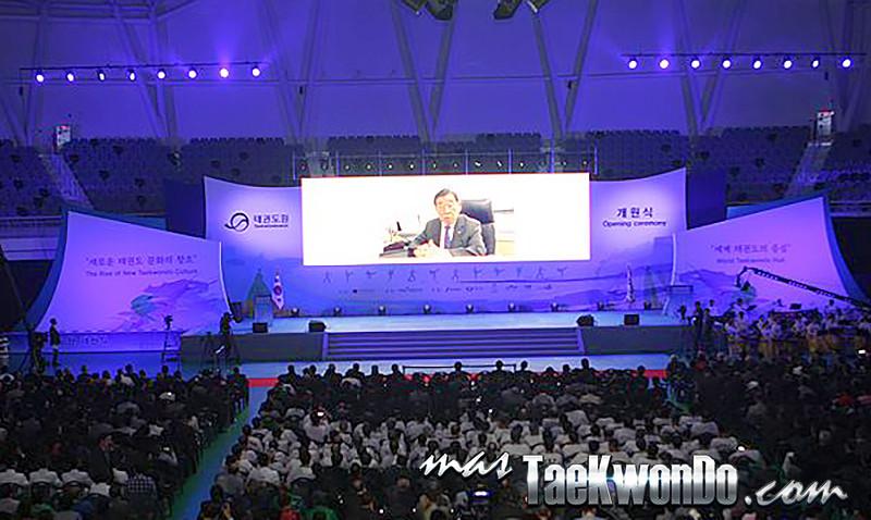 Taekwondowon inauguration
