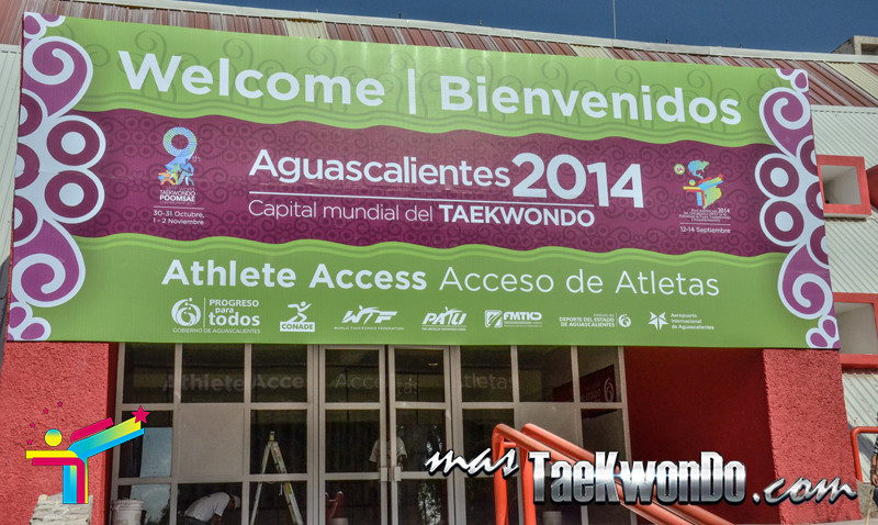 Aguascalientes welcoming banner