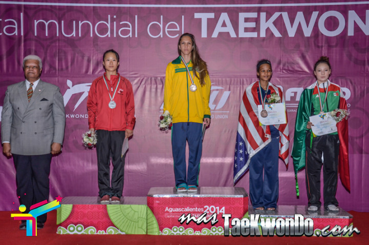 -46kg female podium aguascalientes
