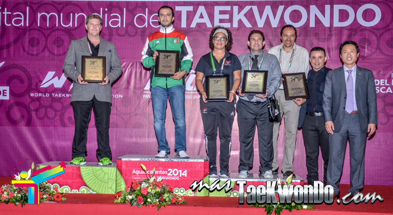 poomsae general podium in aguacalientes 2014