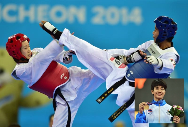 thai taekwondo in asian games