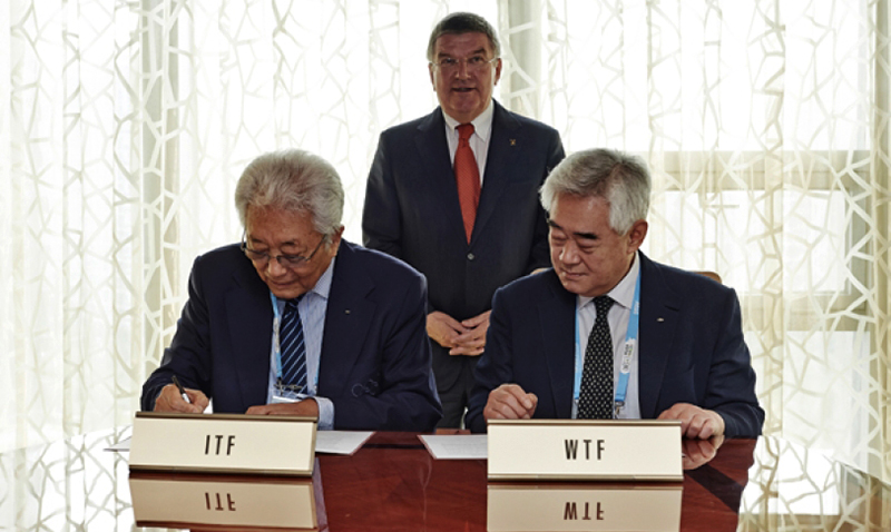 itf and wtf mou sign