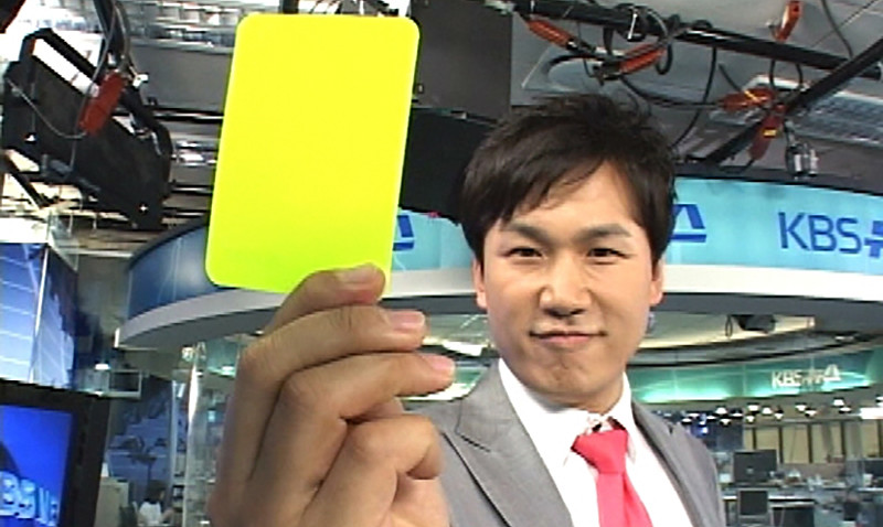 yellow card in taekwondo