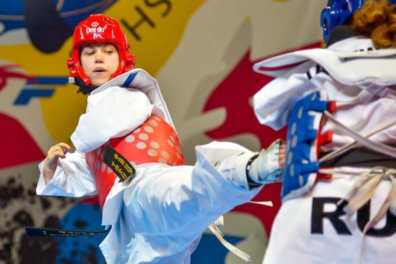 Para Taekwondo in Edinburgh 2014