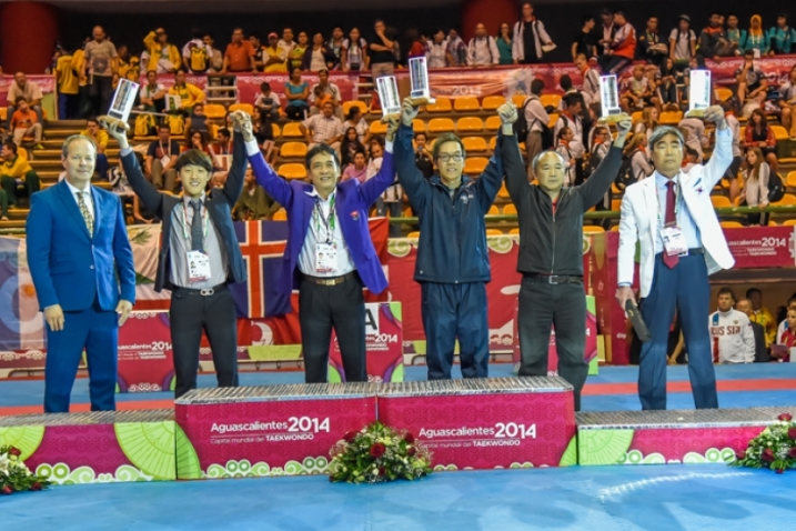 korea champion in poomsae 2014