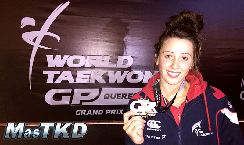 Jade Jones gold in GP FINAL