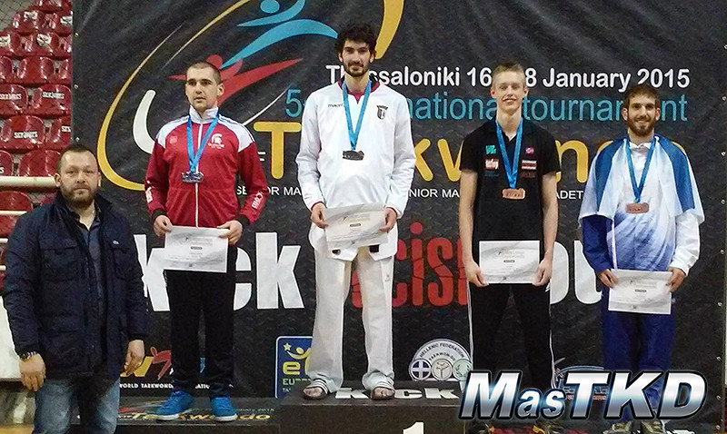 podium greek open 2015