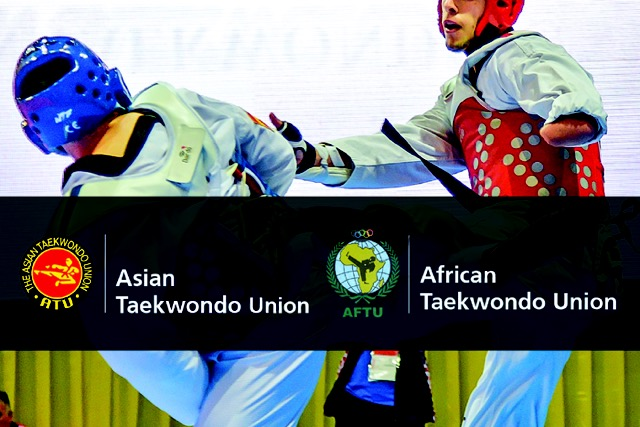 Afrian and Asian Para Taekwondo champs