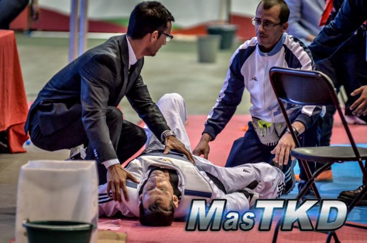 Sebastian Crismanich injured