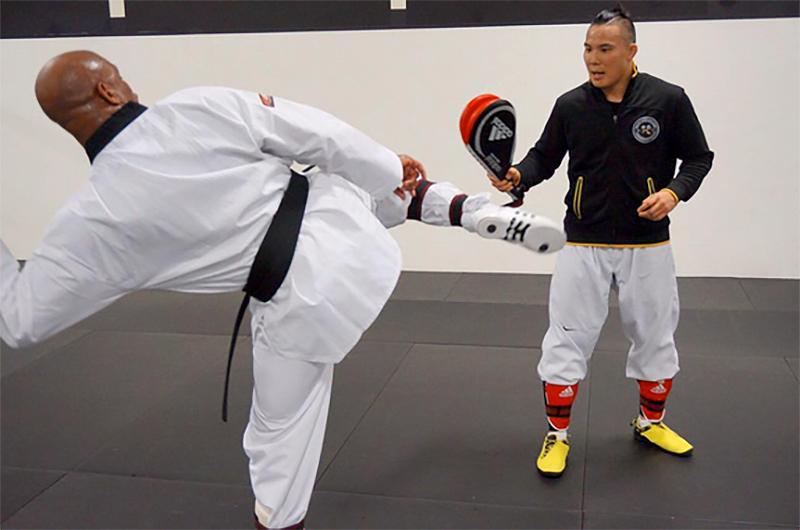 Anderson Silva Brazil Taekwondo