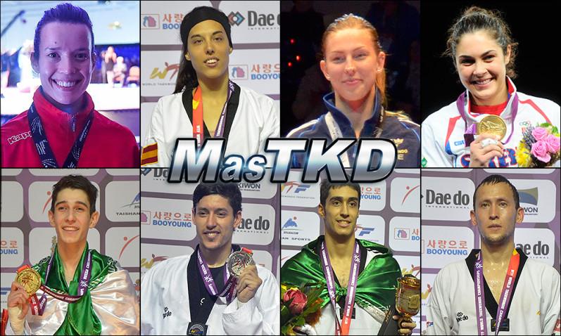 olympic ranking june 2015