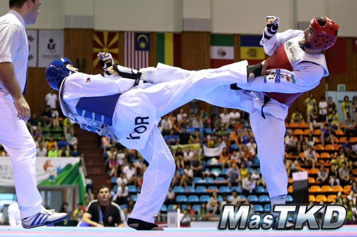 Combate-Taekwondo
