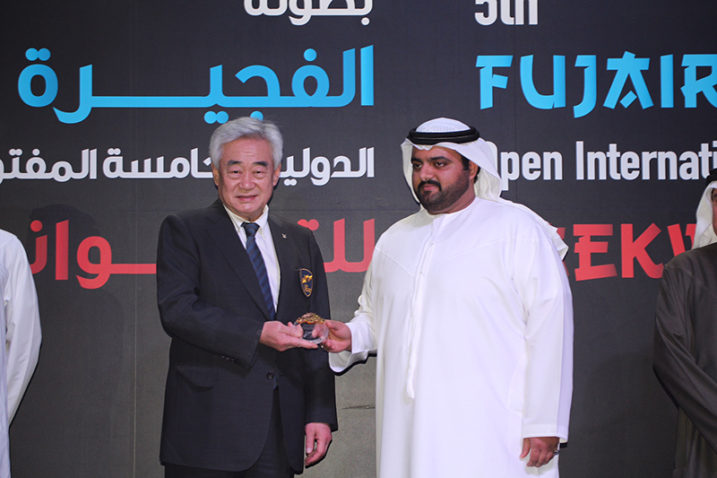 Prince of Fujairah Donates USD100,000 for Taekwondo Programs to Empower Refugees