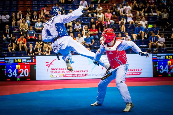 Day 2 of Moscow 2017 World Taekwondo Grand Prix brings shock defeats and home delights