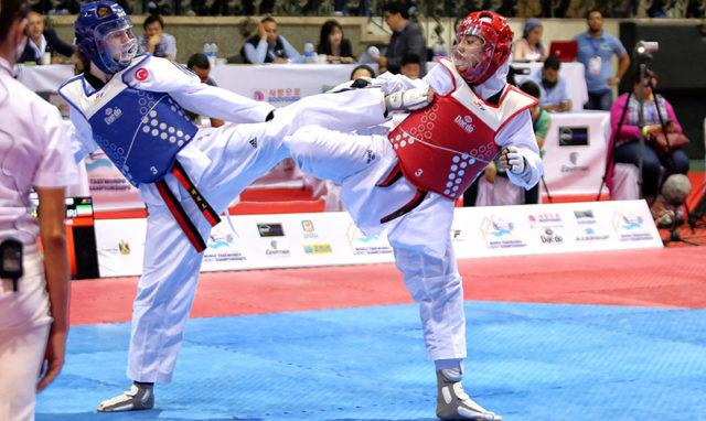 Ergin wows crowds at 2017 World Taekwondo Cadet Championships