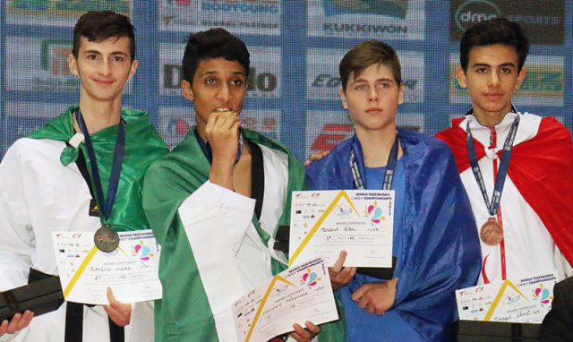 World Cadet Championships began with succeed