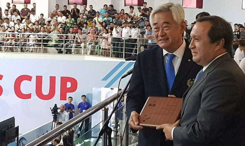 1st WT President's Cup - Asian Region Taekwondo Championships Kick Off in Tashkent