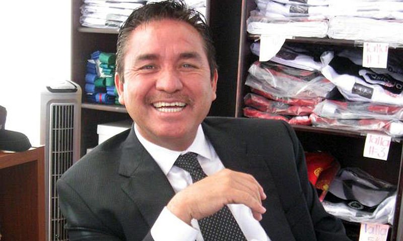FMTKD president Raymundo González