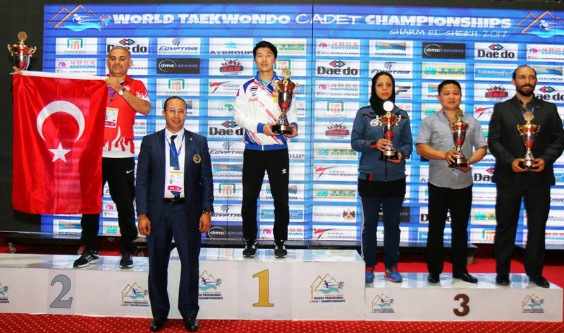 Mexico and Thailand top at 2017 World Taekwondo Cadet Championships
