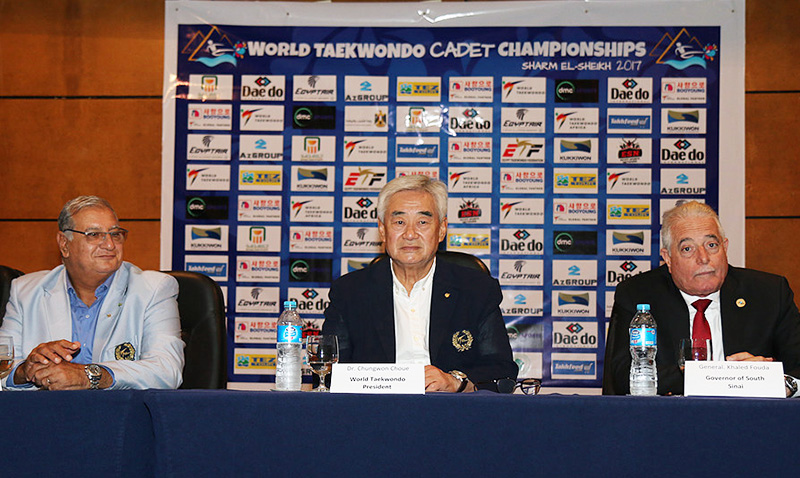 World Taekwondo Cadet Championships Press Conference
