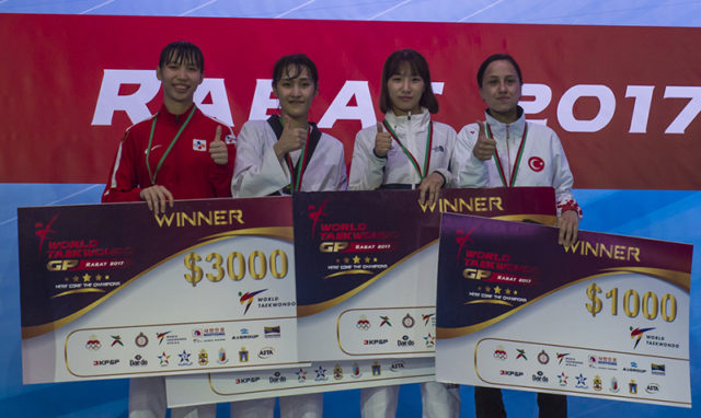 Golden for Korea and Cote d'Ivoire on the second day