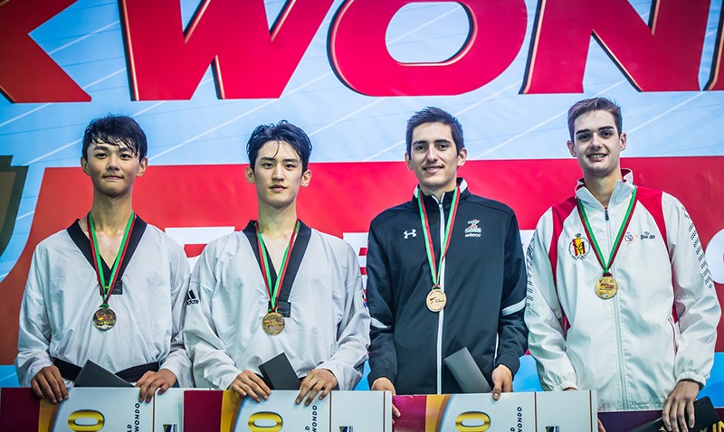 Grand Prix ends with golds for Turkey and Korea