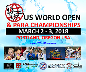 2018 US World Open & Para Taekwondo Championships