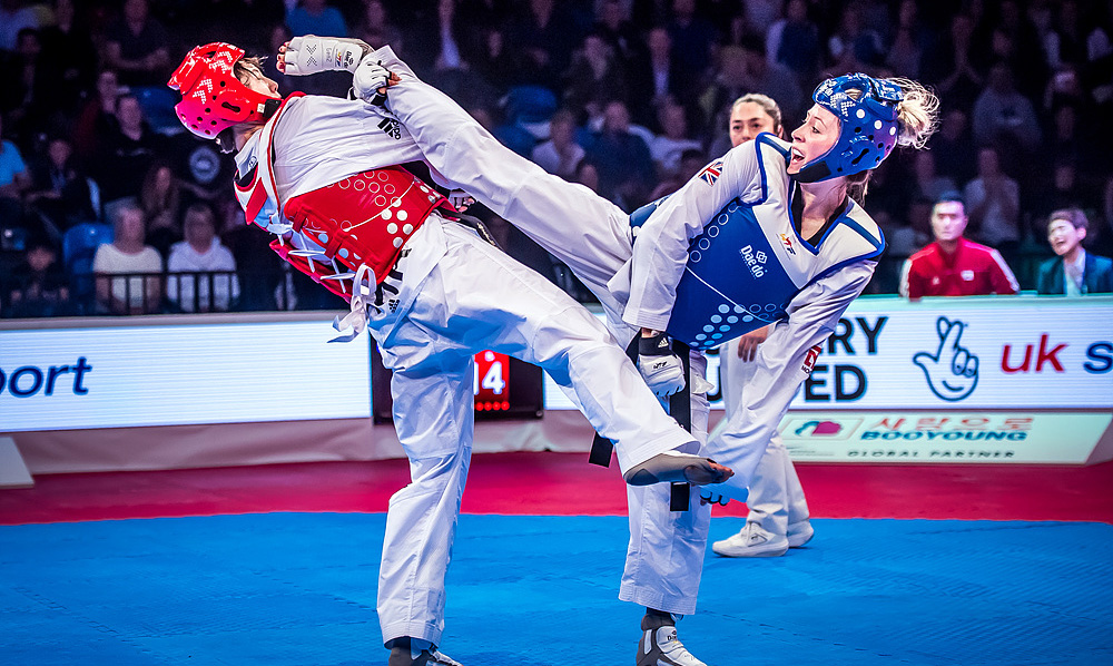 Great Britain dominate on second day of WT Grand Prix Series