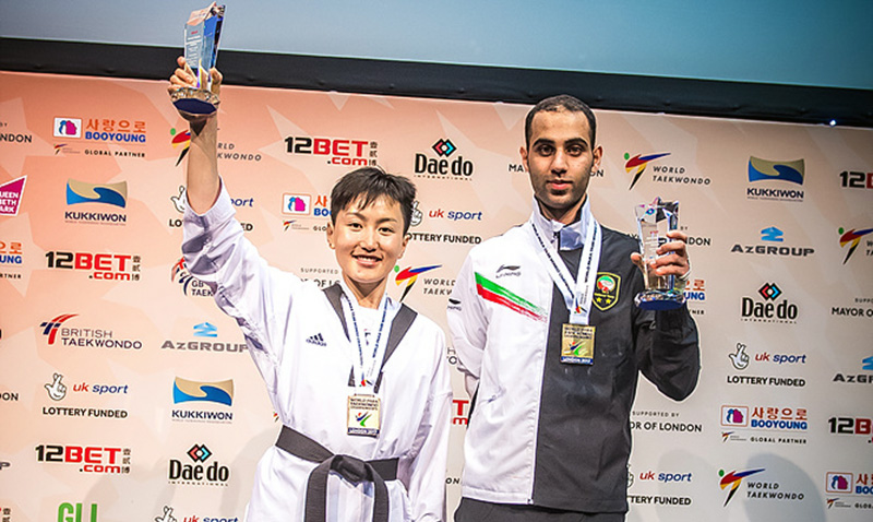New record at the 7th World Para Taekwondo Championship