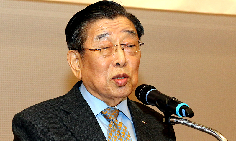 Un Yong Kim, Founding President of WT Passes Away