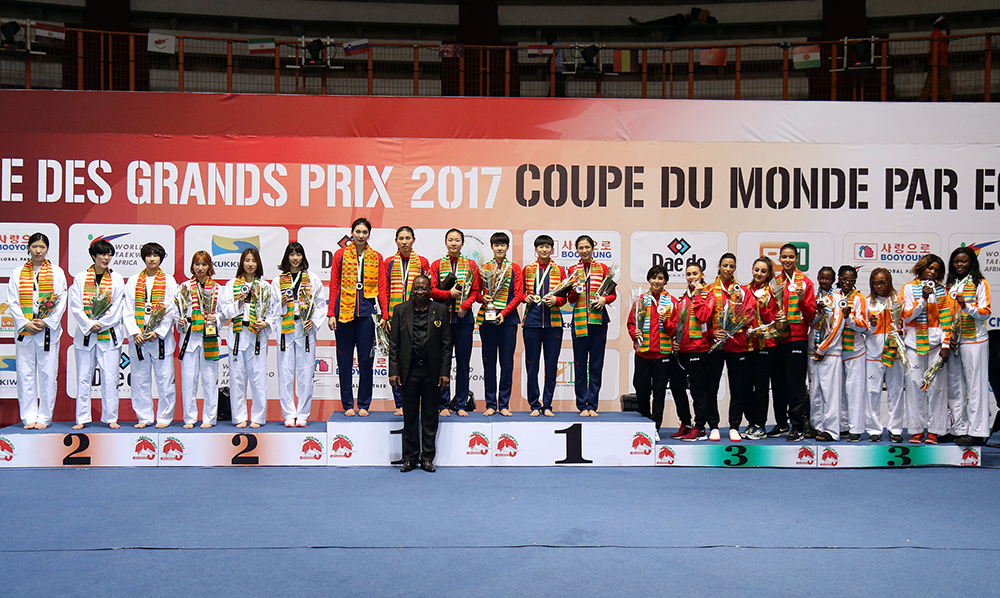 China and Iran Strike Gold at 2017 World Taekwondo Team Championships