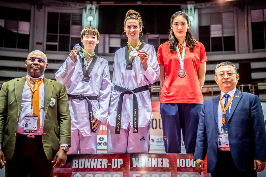 Bianca Walkden becomes first ever fighter to win all four Grand Prix