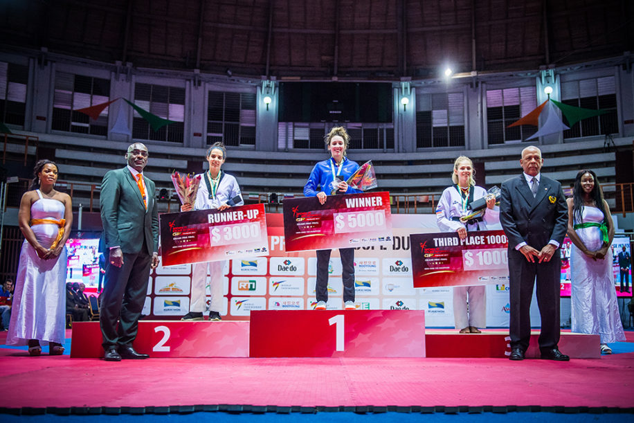 Korea's Lee Captures Third Consecutive Grand Prix Title in Abidjan