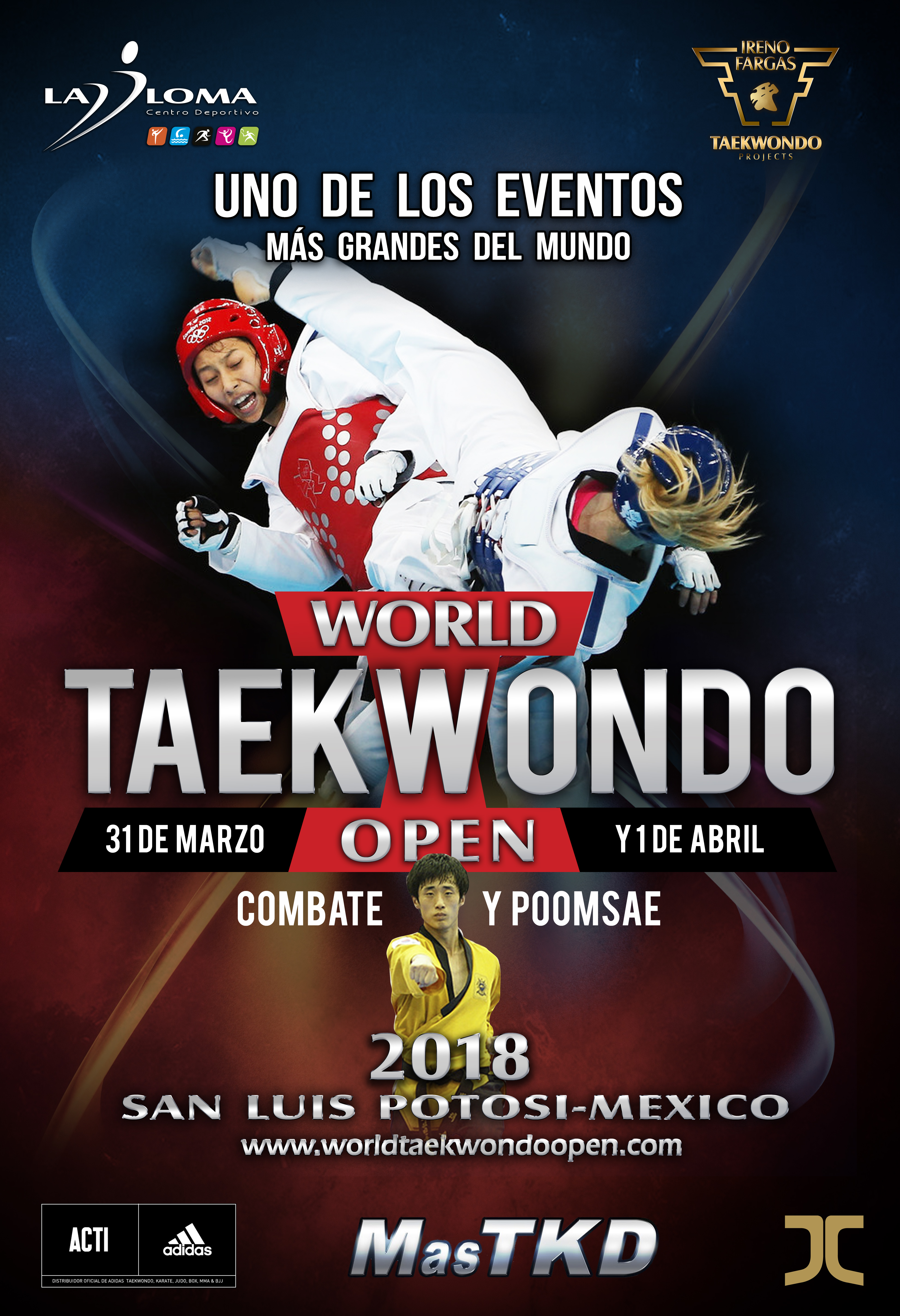 World Training Camp and World Taekwondo Open 2018