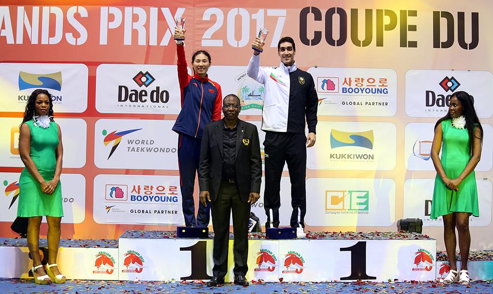 China and Iran Strike Gold at 2017 World Taekwondo Team Championships