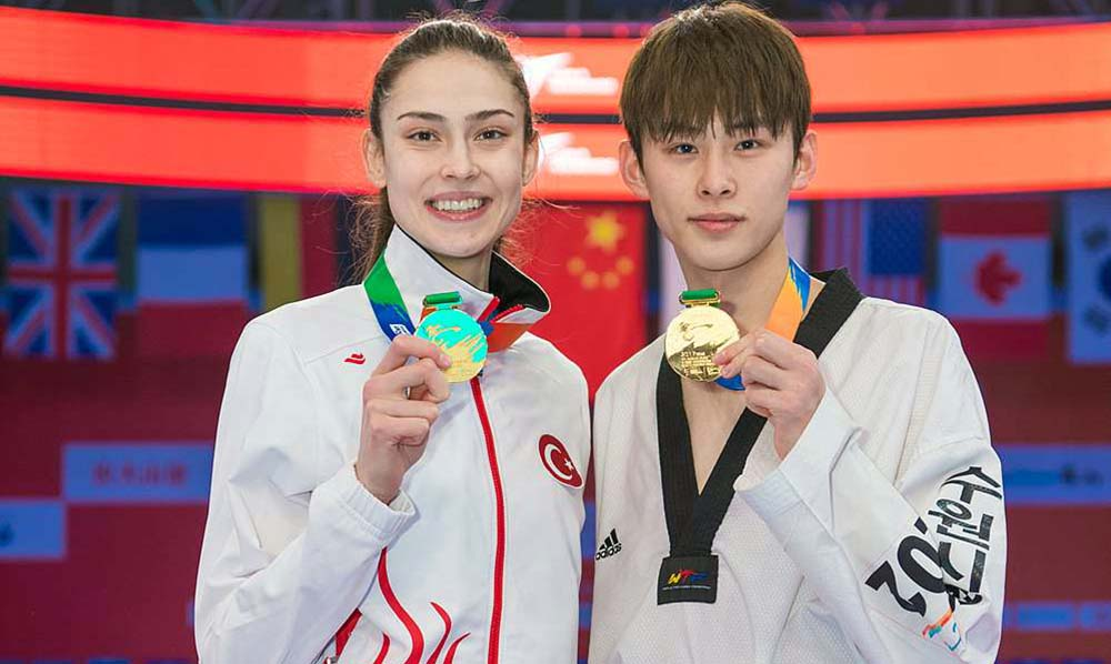 Irem Yaman and Tae-Hun Kim claim top spots of the Grand Slam
